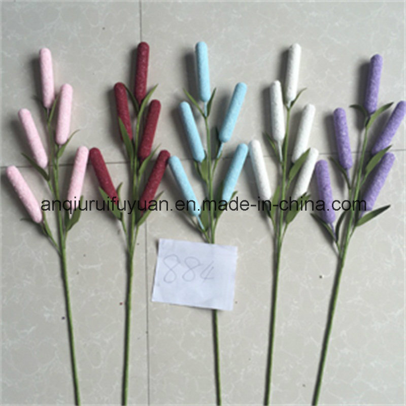 The Home Decoration with Artificial Grass Flowers02