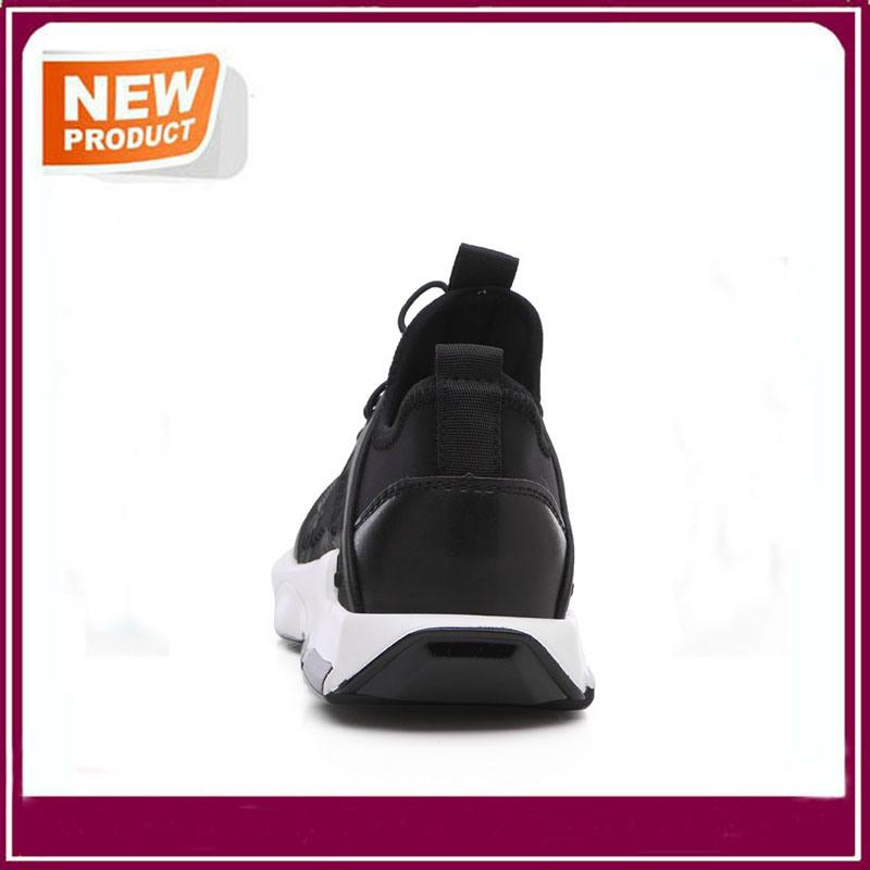 Black Shockproof Walking Comfortable Sport Running Shoes