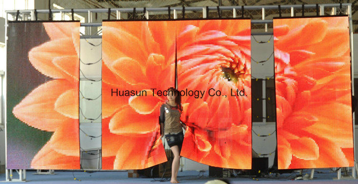 Portable Flexible LED Curtain With Light Weight and Easy Installation (FLC-1600)