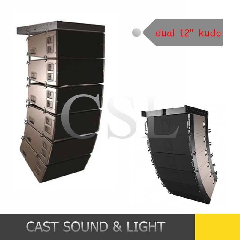 "PRO Line Array System Dual 12"" 3 Way Professional Speaker"