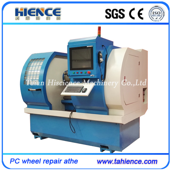 Diamond Cutting Automatic Wheel Repair Machines with Touch Screen Awr2840PC