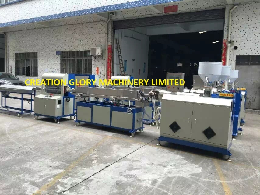 High Capacity Stable Running FEP Tubing Plastic Extrusion Line