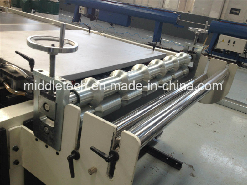 PVC+PMMA/ASA Roofing Wave/Glazed/Corrugated Tile Extrusion Machine