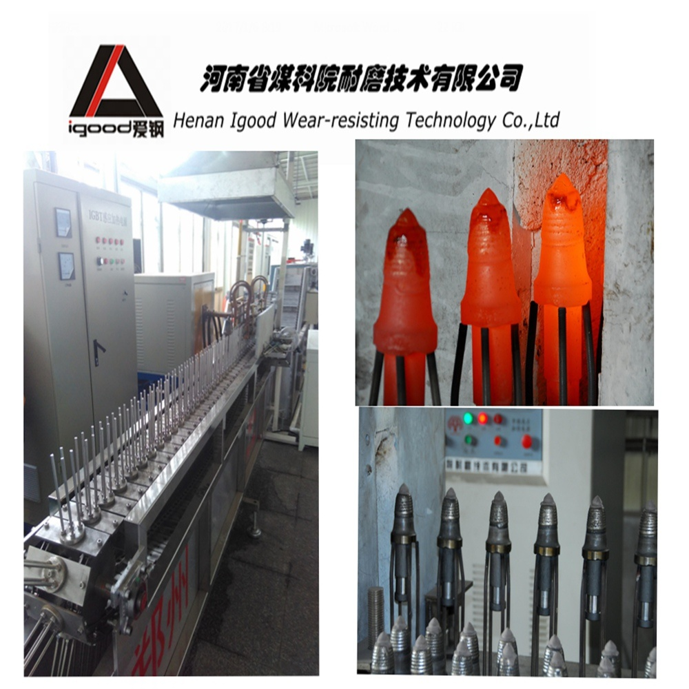 Cladding Alloy Powder Layer Conical Picks Production Line