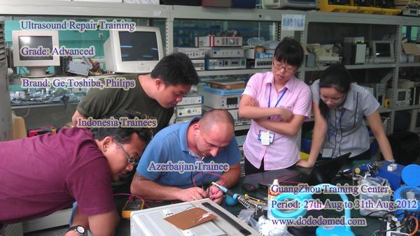 Ultrasonic Equipment Repair Training for Hospital Technician