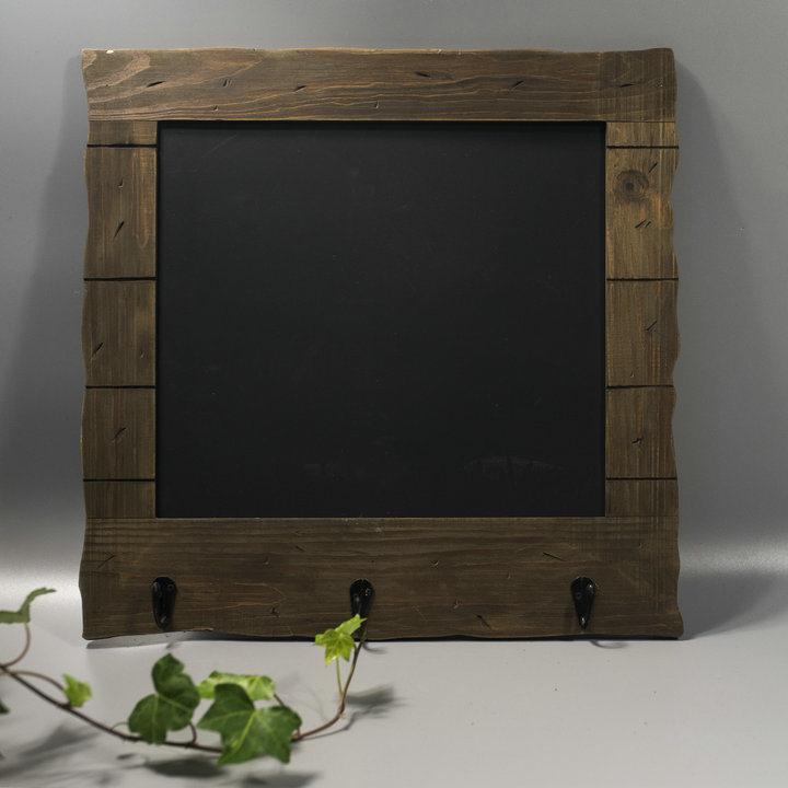 Hot Fsc Pinewood Vintage Blackboard with Hook