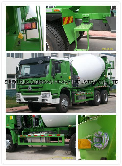 Sinotruk HOWO Mixer Truck 103 (ZZ1257N3841W)