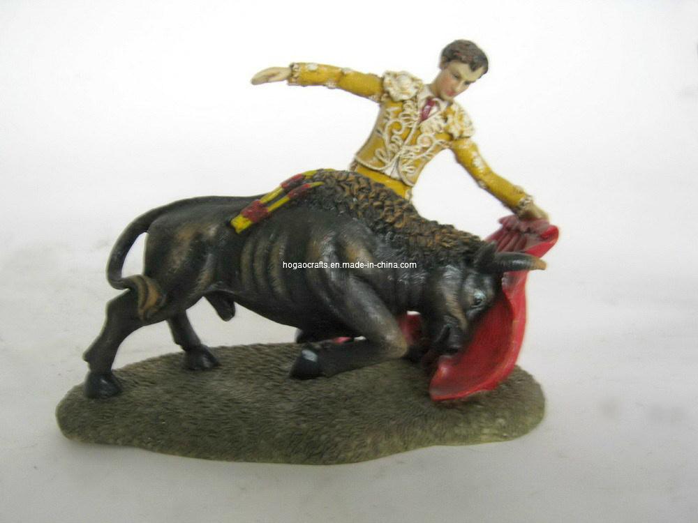 Polyresin Coppe Matador Figurine Home Statue