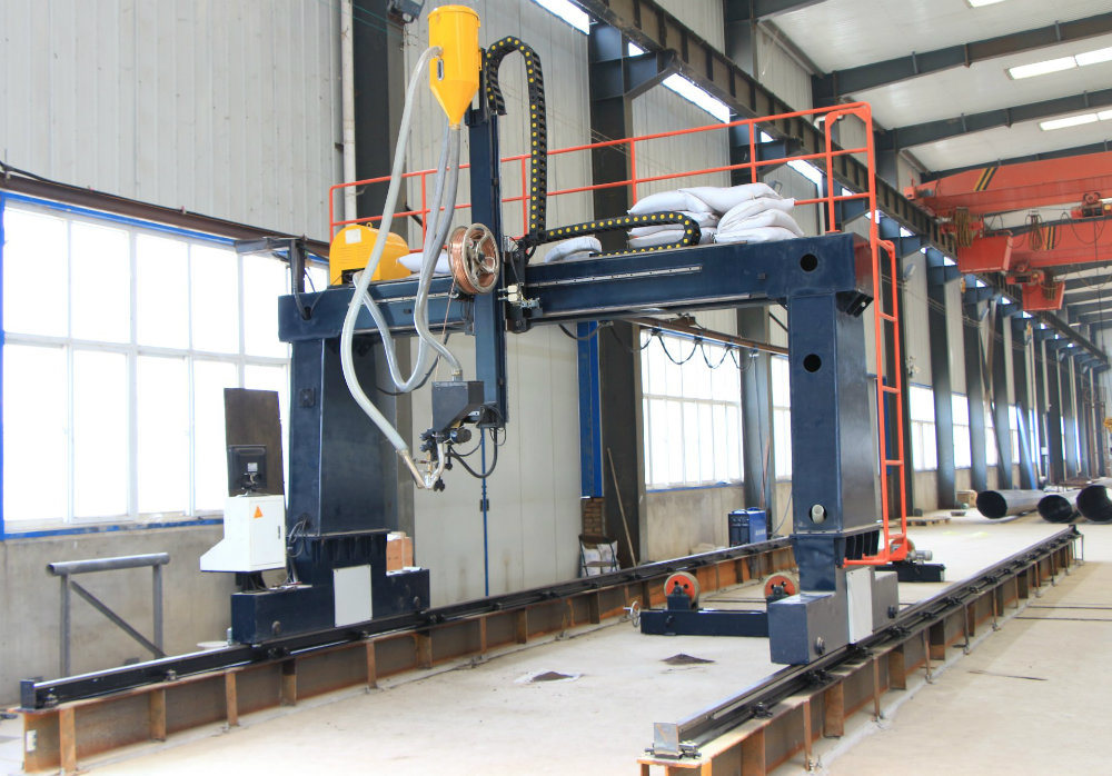 Gantry Type Longitudinal and Circular Seam Welding Machine