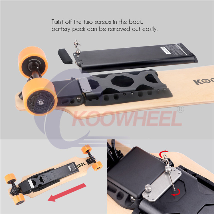 Koowheel High Quality Four Wheel Smart Fashion Electric Skateboard