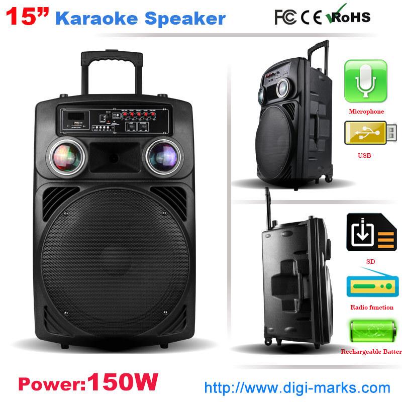 New Professional DJ Active Stage Speaker for Karaoke