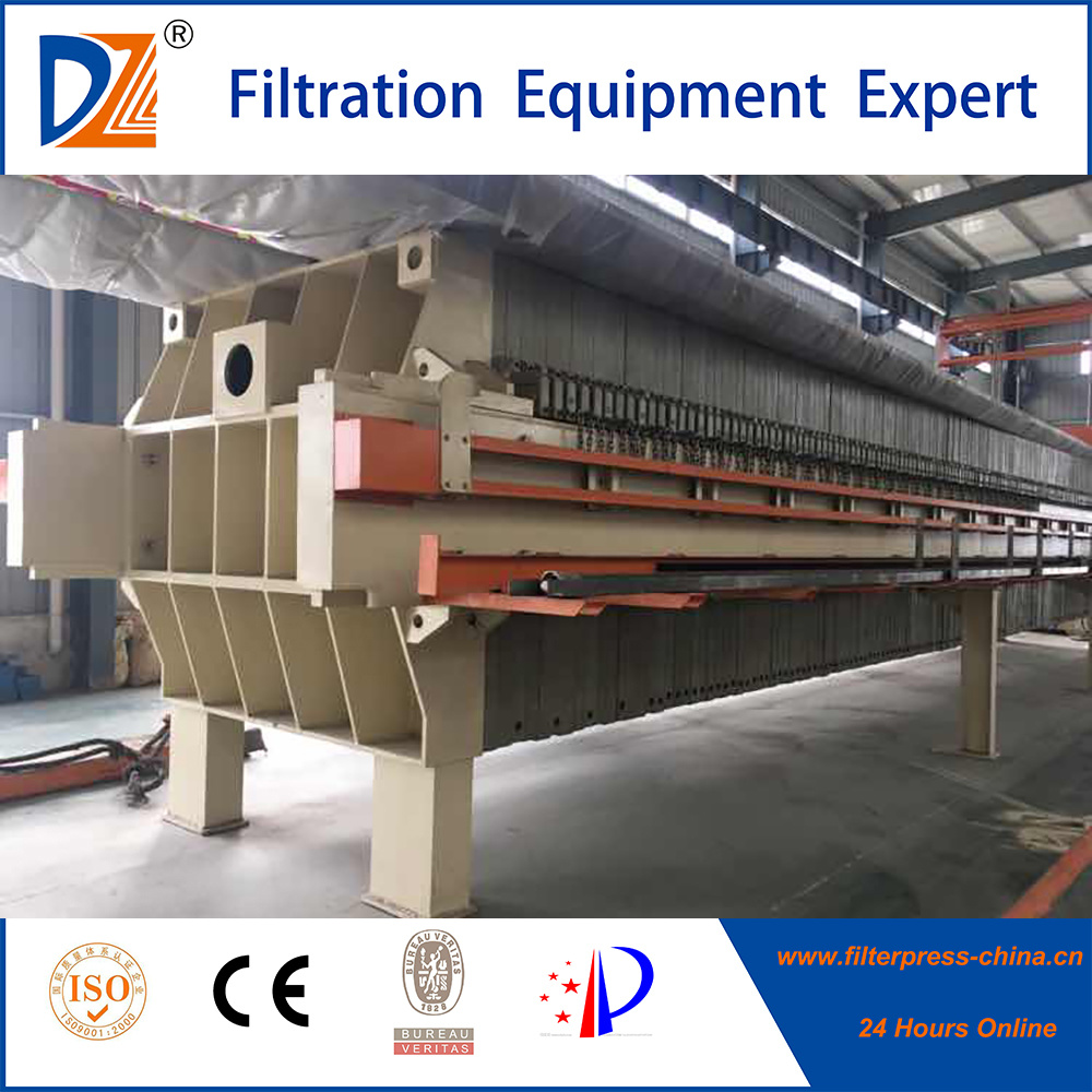 Dazhang Fast-Openning Membrane Filter Press for 1000 Square Meters