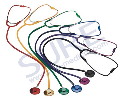 Hot Sale Good Quality Nice Design Single and Dual Head Stethoscope CE Approval (SR1002)