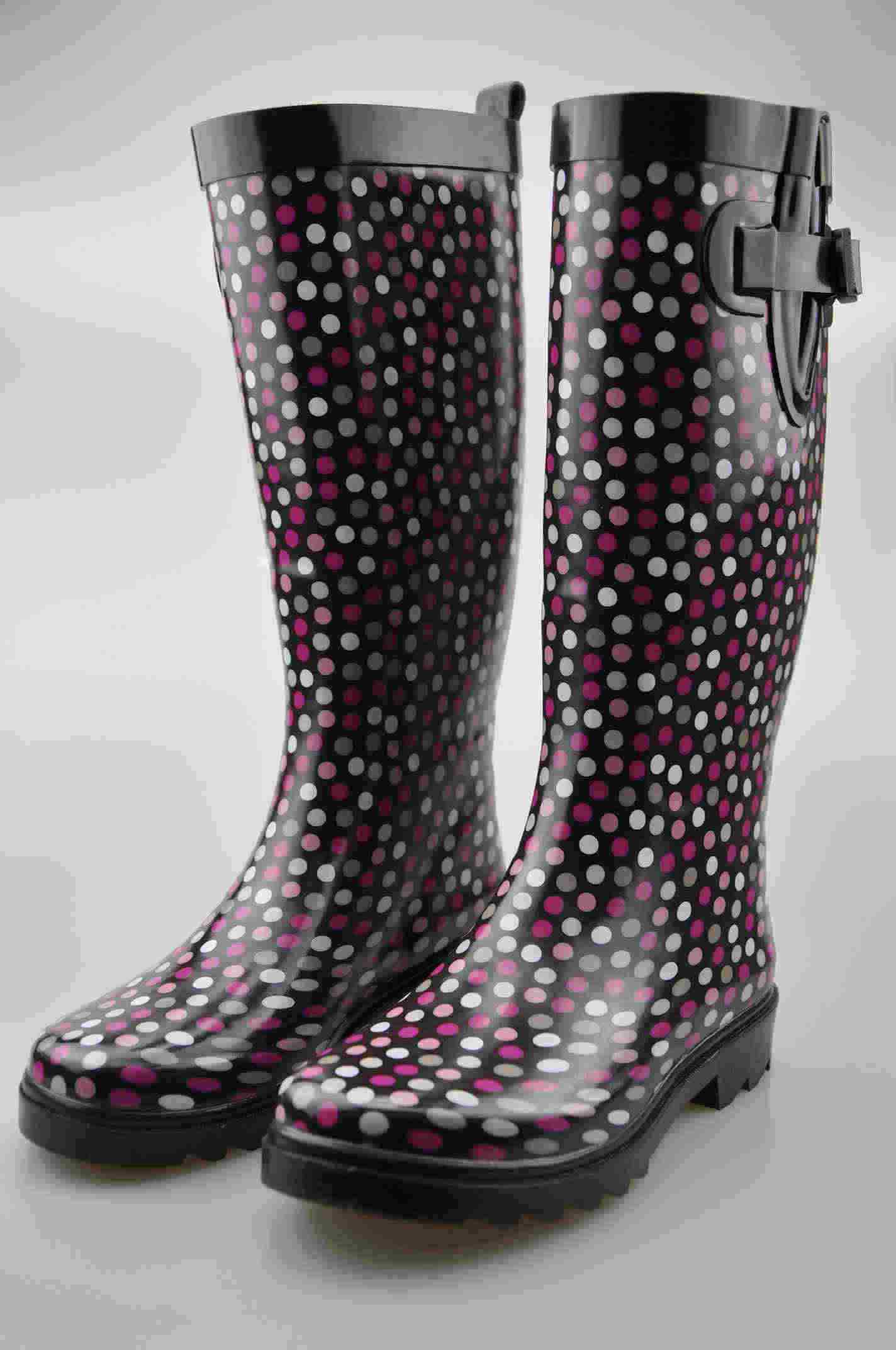 Women's Fashion Rain Boots (BM-0102