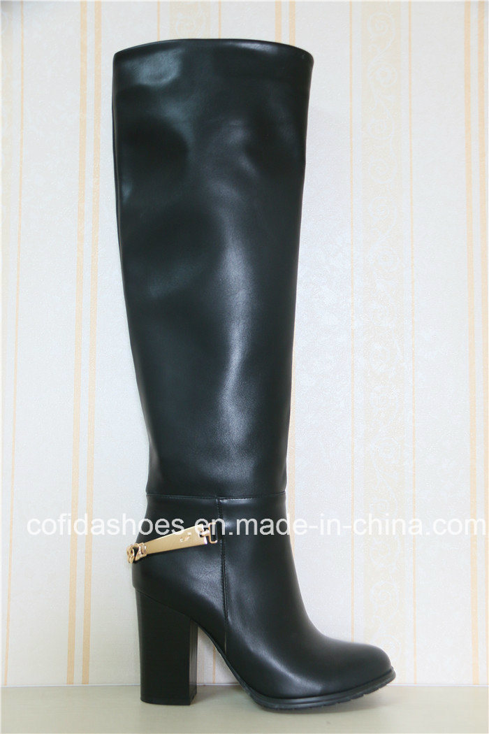 China Elegant Fashion High Heels Lady Rubber Boots Photos Pictures Made In