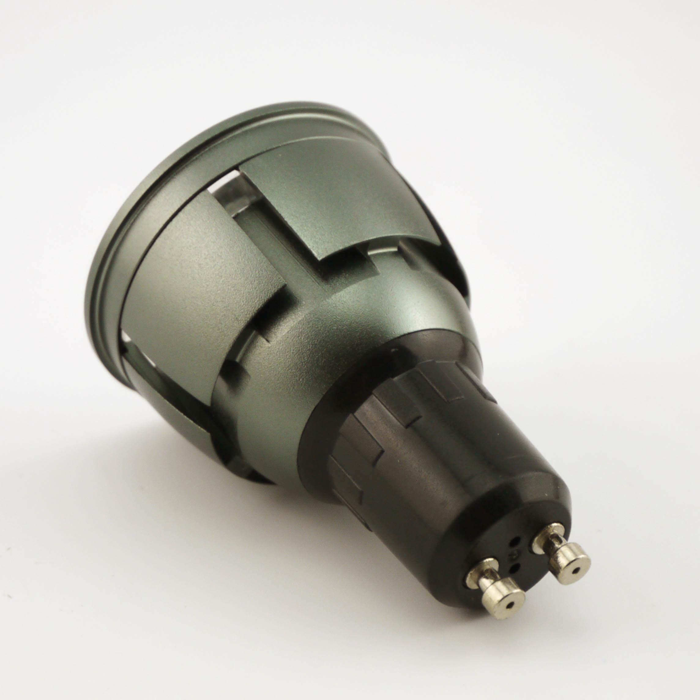 Aluminum 7W COB LED Recessed Downlight GU10 Bulb (LT9002-7W)