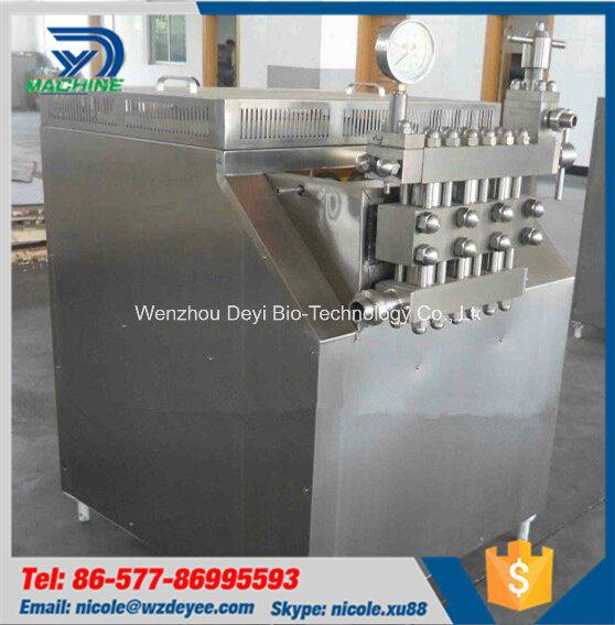 1500L Stainless Steel Milk High Pressure Homogenizer