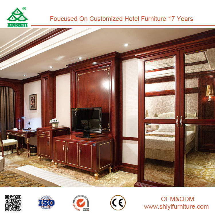 European Design 5 Star Hotel Double Bedroom Furniture Set
