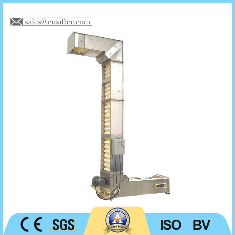 China Bucket Elevator, Z Type Bucket Elevator Machine