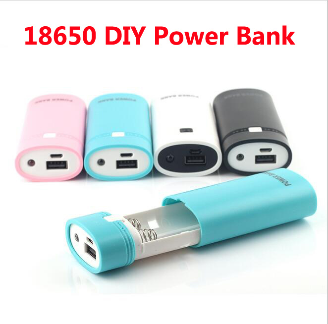 18650 Battery Case Battery Charger DIY Power Bank Case for Cellphone Pad