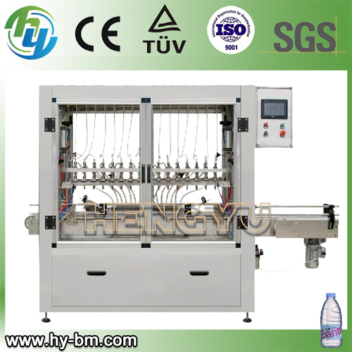 Linear Type Bottle Washing Filling and Capping Machine