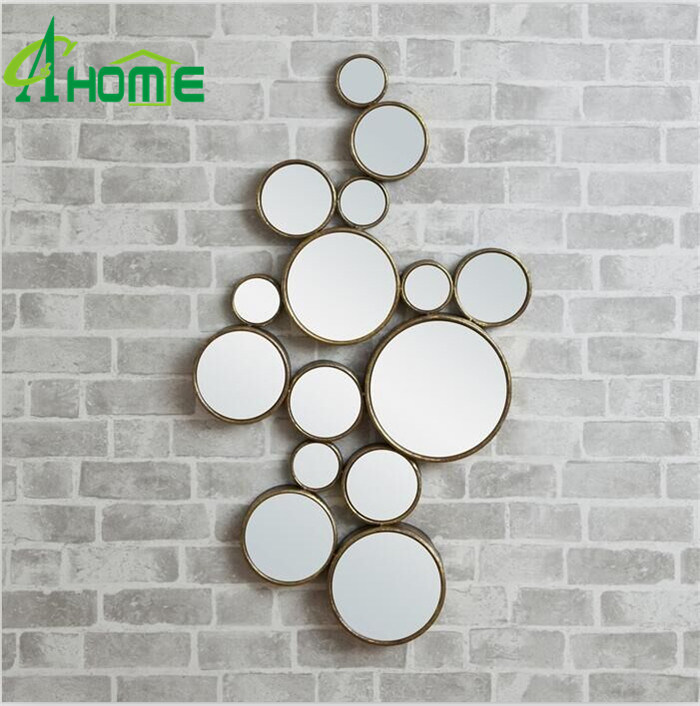 Fancy Iron Material Antique Wall Miror