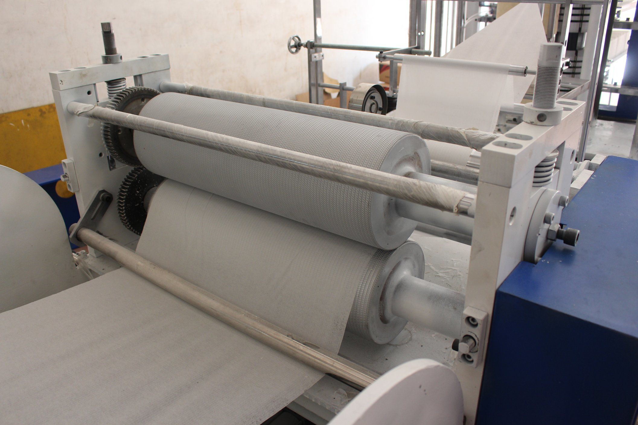 High Speed Automatic Printing Embossing Napkin Paper Machine
