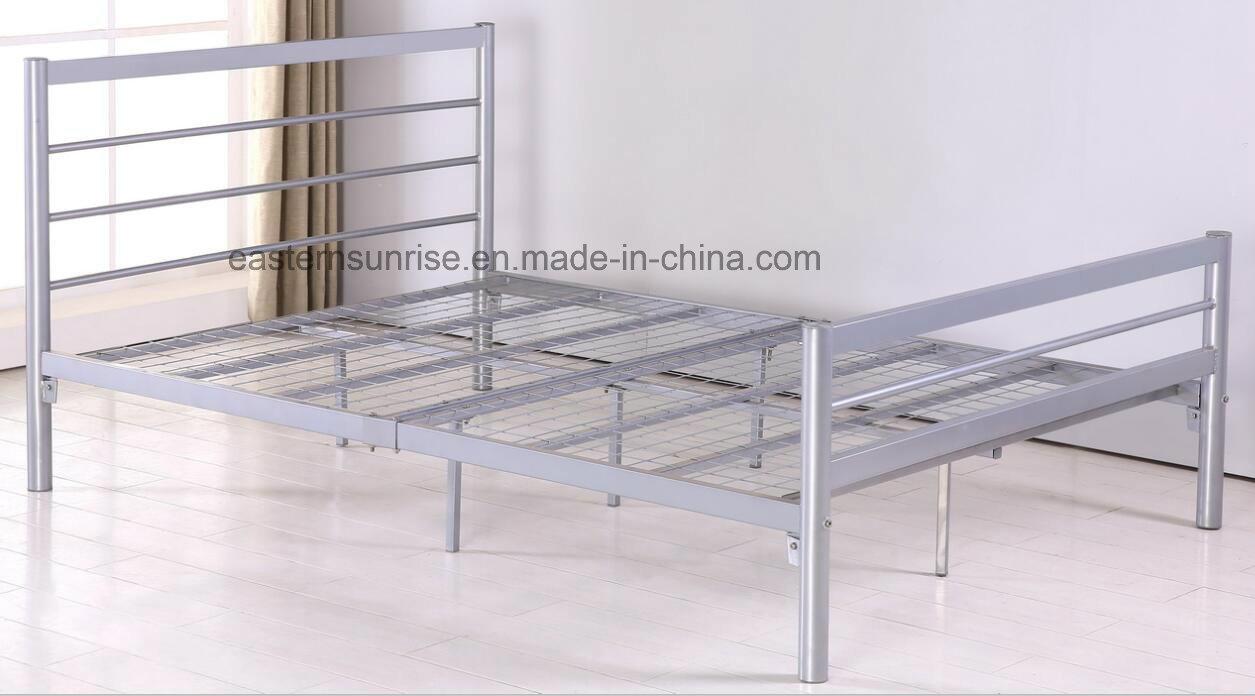 Indoor Home Furniture Metal Queen Size Bed