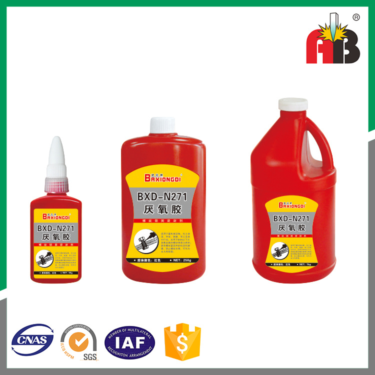 Middle Viscosity 10g 50g 250g 1kg Red 271 Anaerobic Adhesive