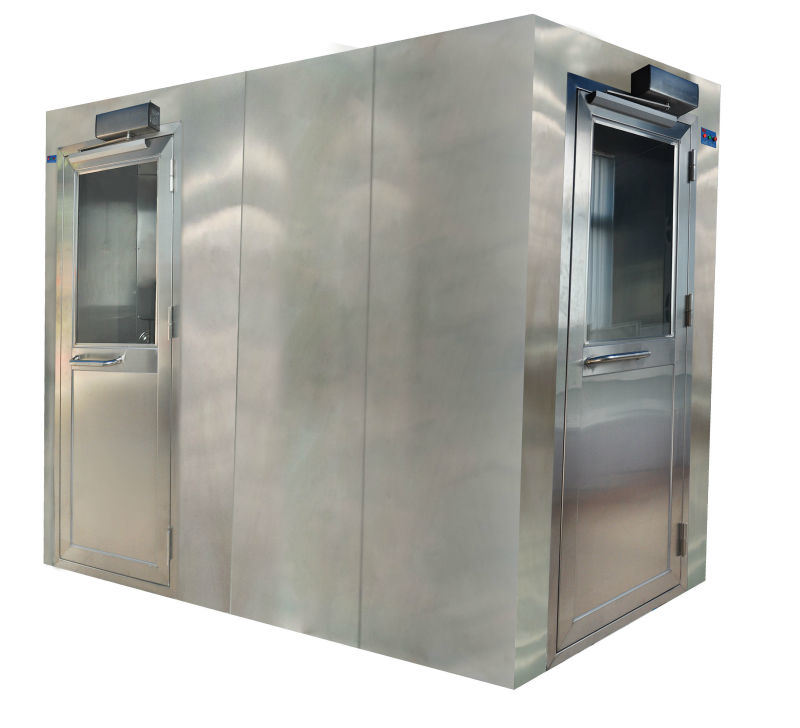 Dust Remove Powder Coated Steel Air Shower Room/Clean Room