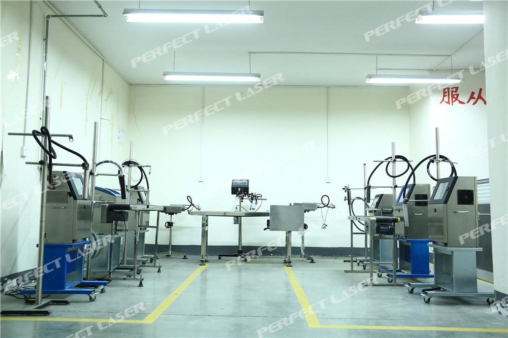 Expiration Date Inkjet Printing Machine for Bottle Plastic Pipe