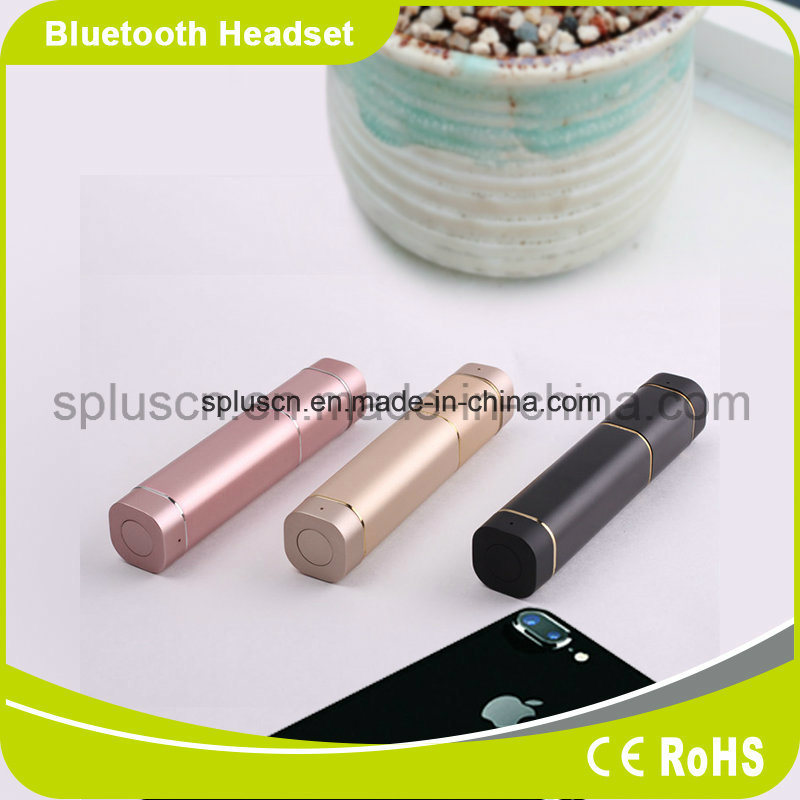 2017 New Real Wireless Bluetooth Earphone with Power Bank for iPhone 7