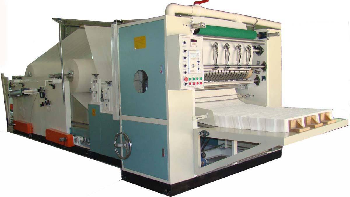 Fully Automatic V Fold Towel Paper Machine-Single Fold