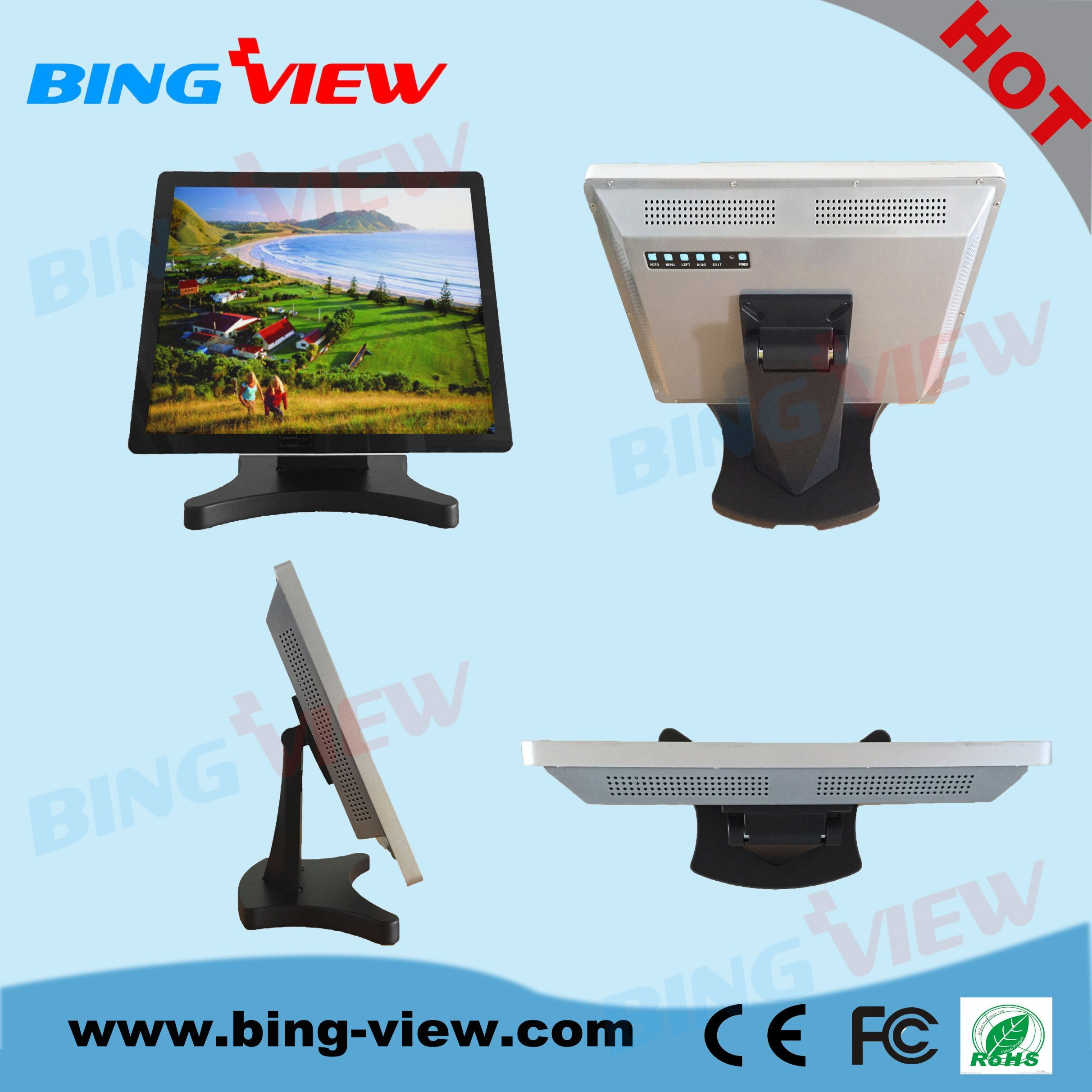 """21.5 """"Point of Sales Pcap Touch Monitor Screen"""