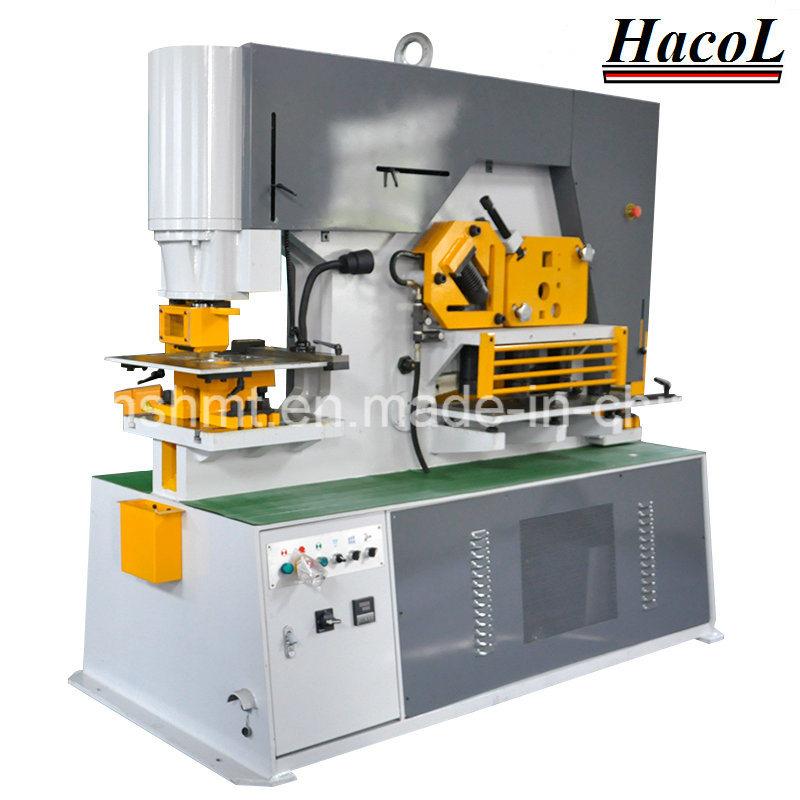 Q35y-30 Hydraulic Iron Worker/Hydraulic Conbined Punching and Shearing Machine with Notching /Angle Cutting Machine