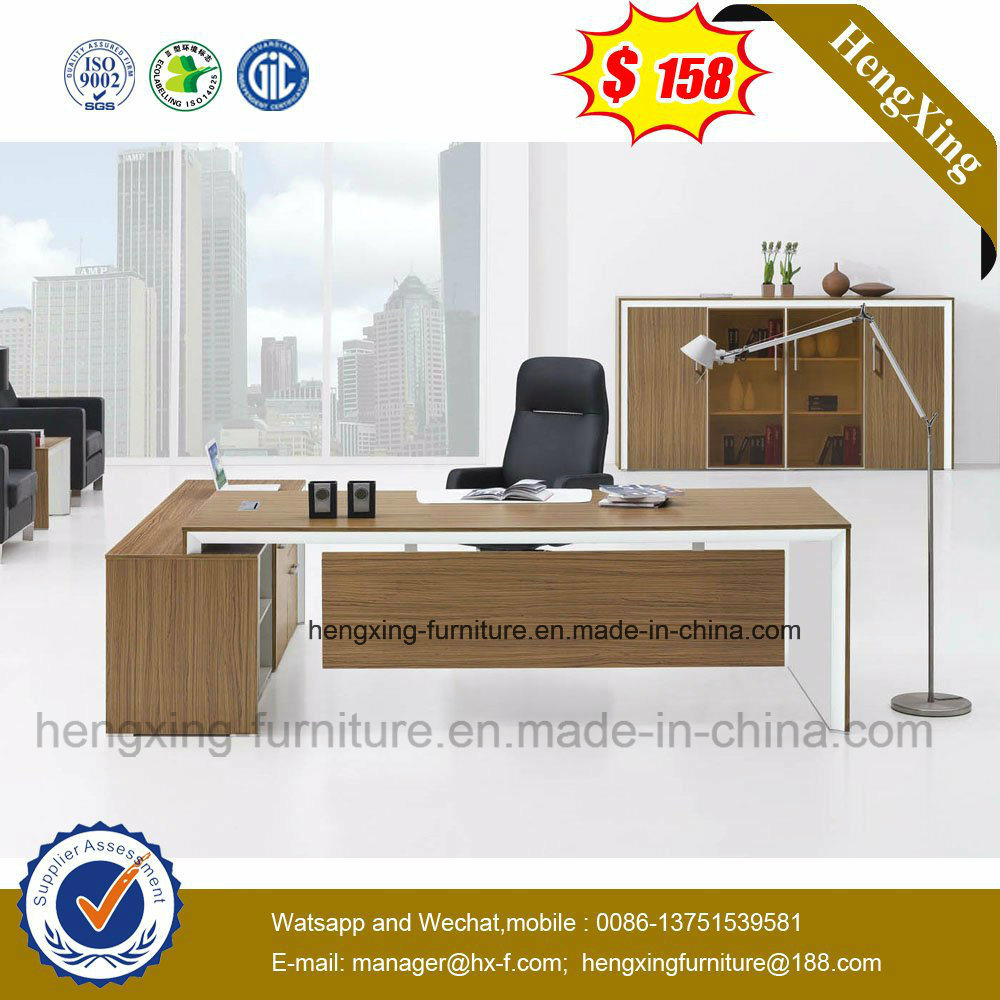 Melamine Executive Office Desk (table) Modern Office Furniture (HX-NT3259)