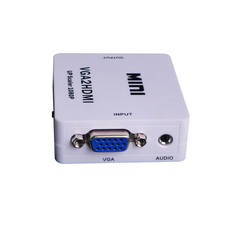 Mini VGA to HDMI Upscaler 1080P