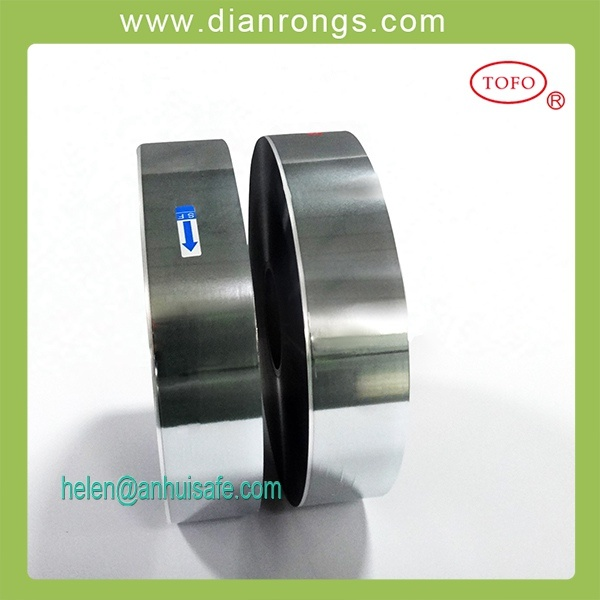Zinc-Aluminum Alloy Pet Metallized Film with Heavy Edge