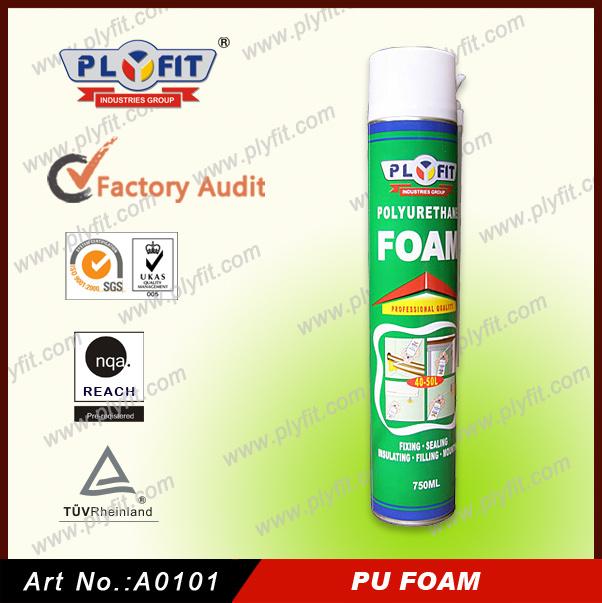 China Supplier Household Product Harmless Spray PU Foam