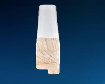 White Paint Wooden Shutter Components, Fj Pine Shutter Components