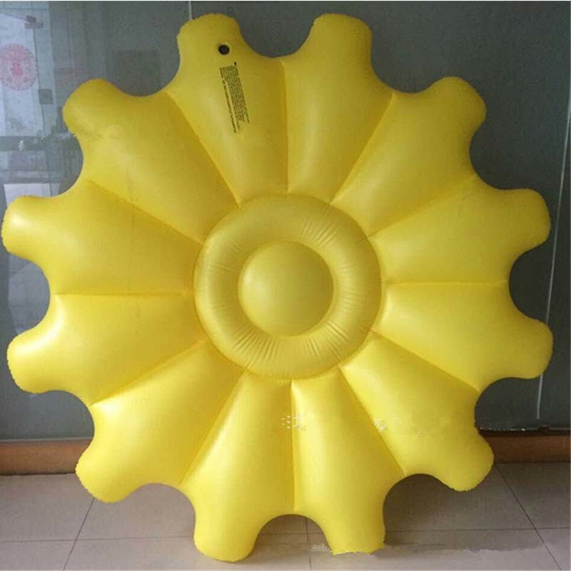 Holiday Family Pool PVC Inflatable Beach Sunflower Float