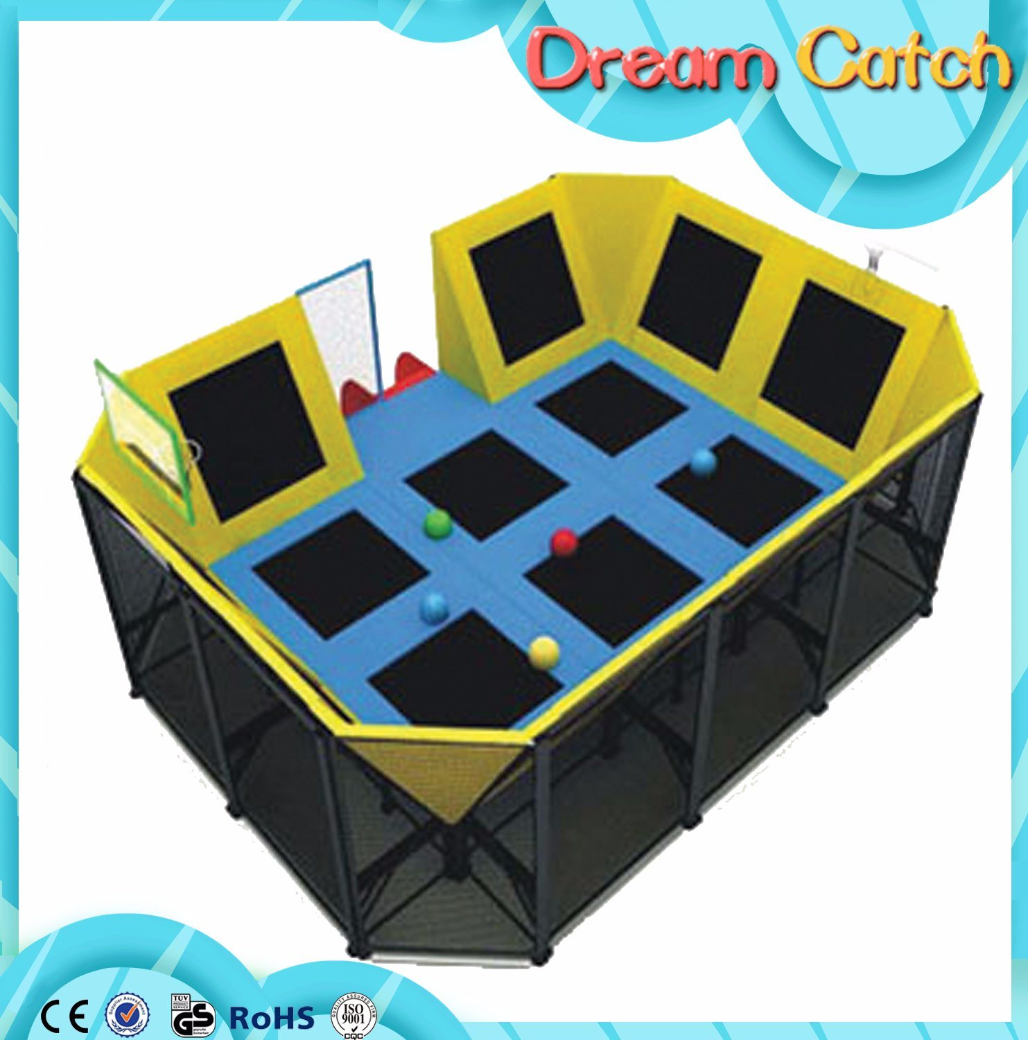 Amusement Park Mini Trampoline for Kids