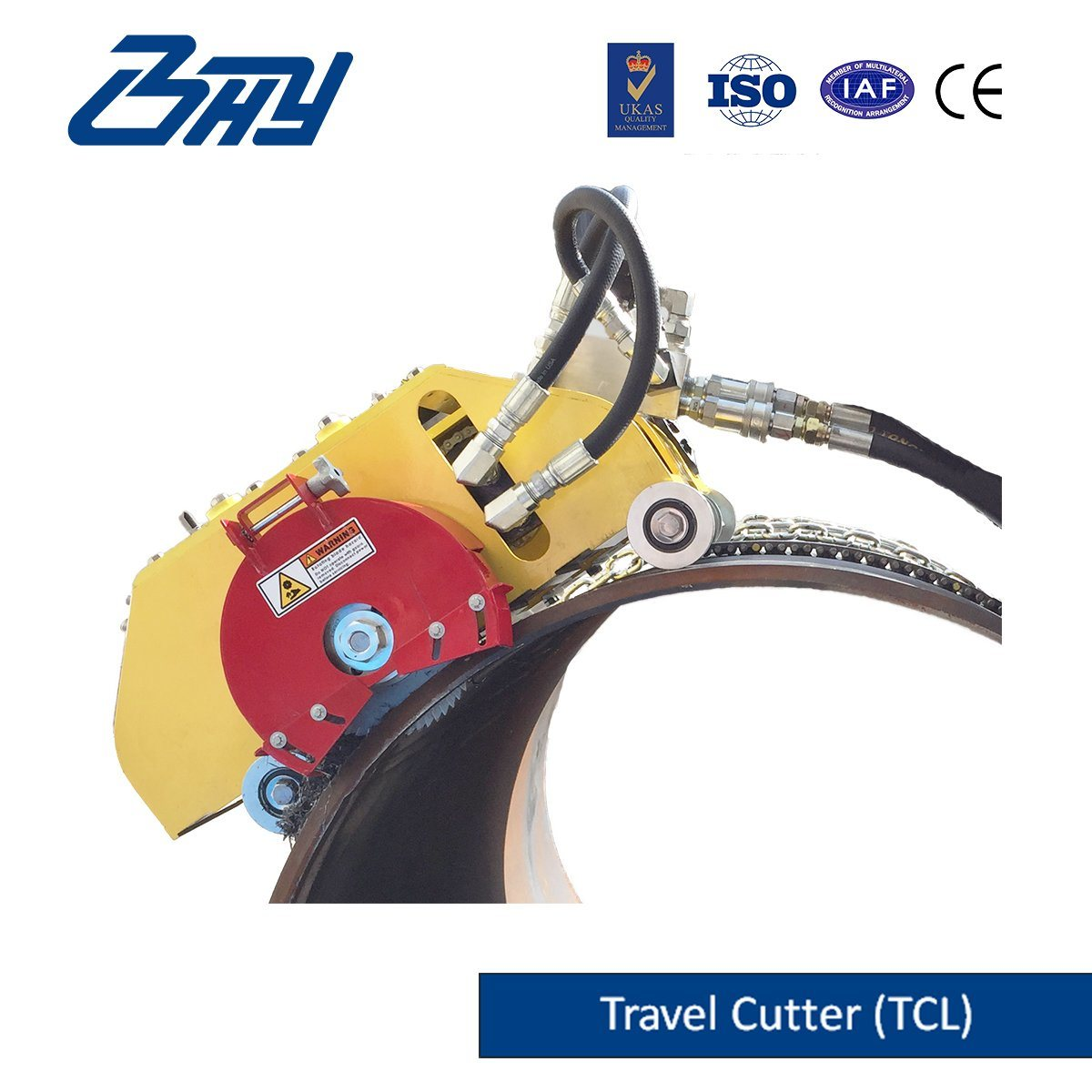 Hydraulic Travel-Cutter/ Pipe Cutting and Beveling Machine (TC0672)