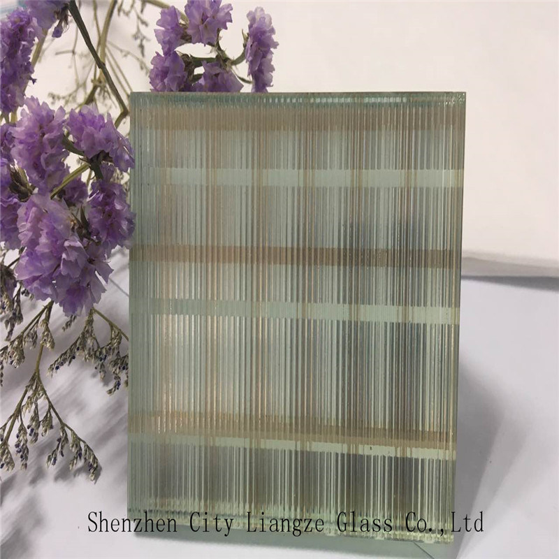 10mm+Silk+5mm Black-Mirror Glass Customized Art Glass/Silk Printed Glass/Safety Glass for Decoration