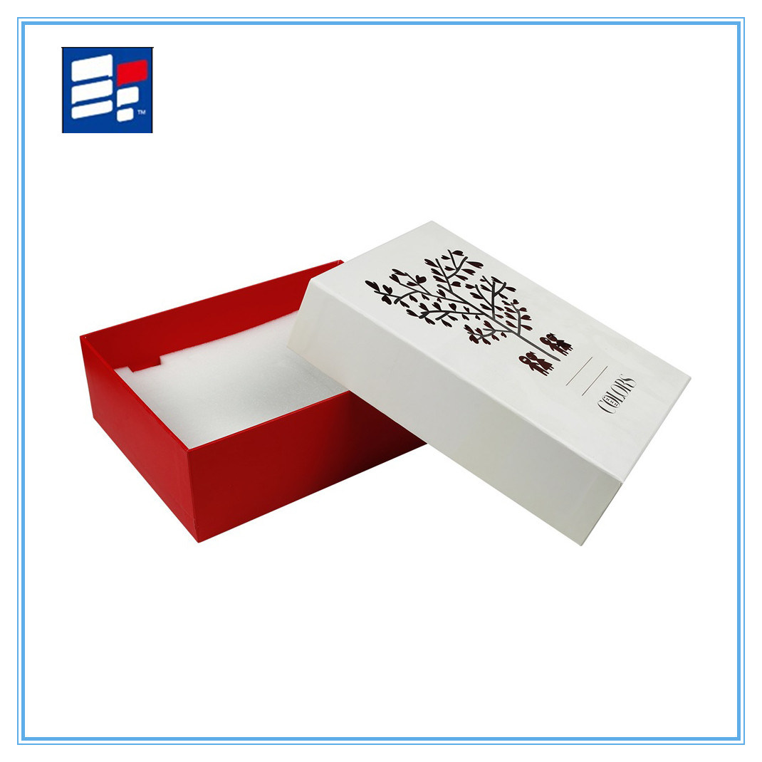 Custom Luxury Folding Paper Gift Box with Logo Print