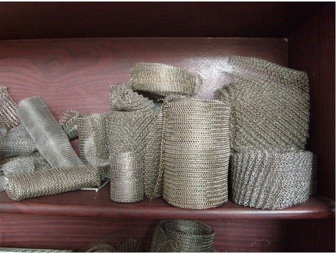 Stainless Steel Knitted Wire Mesh China Supplier Anping Factory