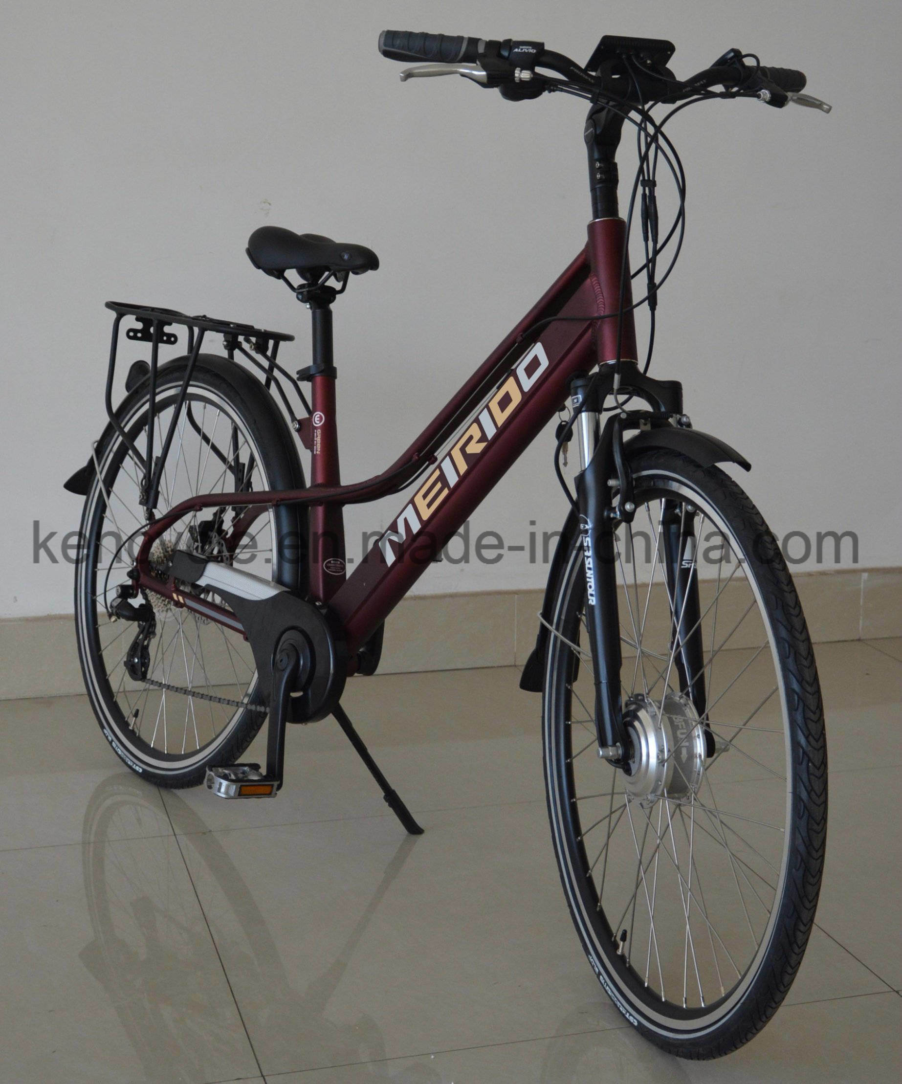 Holland 28 Inch City Electric Bike Oma Bicycle Popular Dutch Cycle China Supplier/E-Bike/Electric City Bike (SY-E2812)