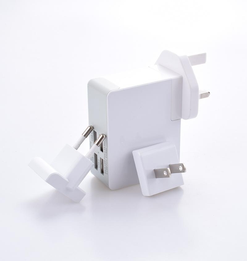 5V 4.8A Popular Multiple USB Tablet Emergency Travel Smart Charger