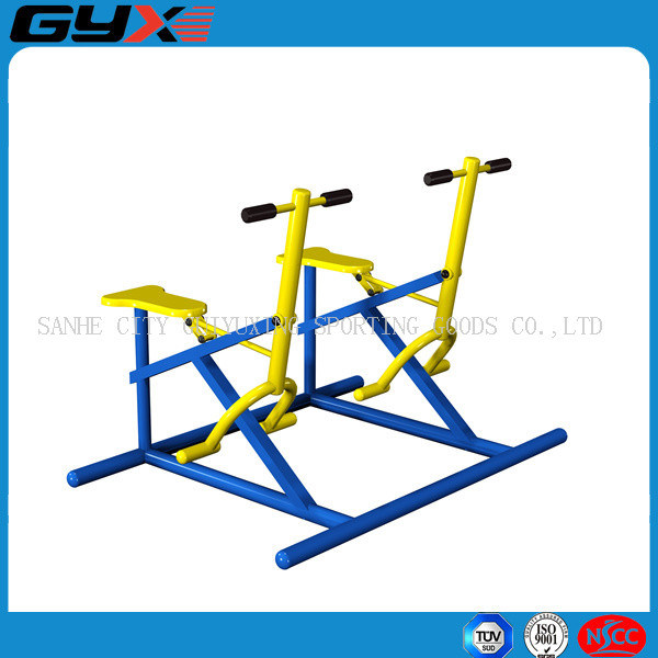 Outdoor Body Building Equipment with The Double Rider