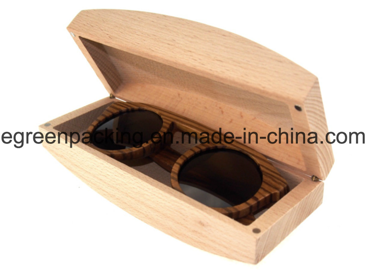 Fashion Sunglasses Wooden/Bamboo Glasses Case (W6)
